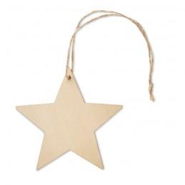 ESTY - Decorație în formă de stea     CX1476-40, Wood