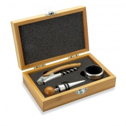 SONOMA - Set vin în cutie din bambus    MO8147-40, Wood