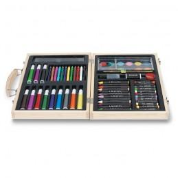 GENIO - Set profesional pentru artişti IT2369-40, Wood