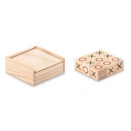TIC TAC TOE - Joc Tic Tac Toe din lemn       MO9493-40, Wood