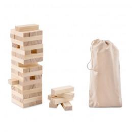 PISA - Turn de joc în sac din bumbac  MO9574-40, Wood