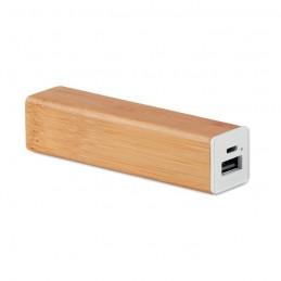 POWERBAM - Acumulator bambus de 2200mAh   MO9673-40, Wood