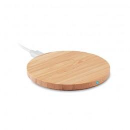 RUNDO - Încărcător din bambus fără fir MO9434-40, Wood