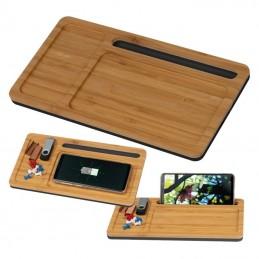 Desk pad cu încărcare wireless - 3149913, Beige