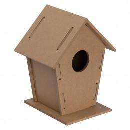 Căsuță pentru păsări - 5071913, Beige