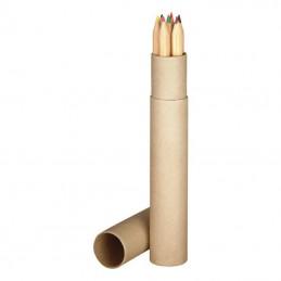 Set creioane colorate 7 buc. - 5609101, Brown