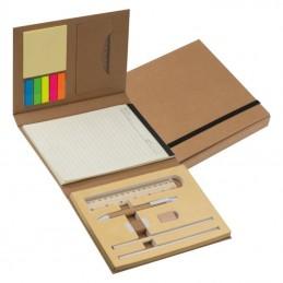 Carnetel cu autoadezive Mapă cu multe accesorii - 2119401, Brown