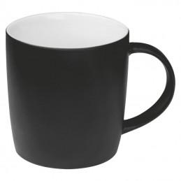 Cană ceramică cauciucată 300 ml - 8065403, Black