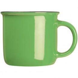 Cană ceramică RETRO, 350ml - 8084309, Green