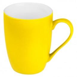 Cană ceramică cauciucată 300 ml - 8065508, Yellow