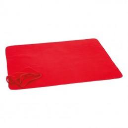 Pătură sau pernă din polar - 6043605, Red