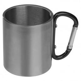 Cană metal cu carabină - 8136703, Black