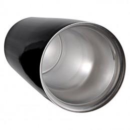 Cană din metal cu perete dublă - 6879903, Black
