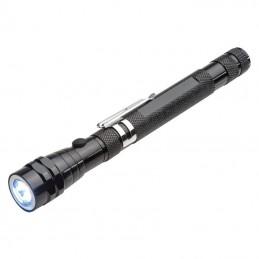 Lanternă telescopică cu LED - 8038703, Black