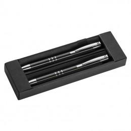 Set pix&creion din metal - 1333003, Black