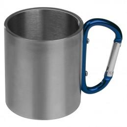 Cană metal cu carabină - 8136704, Blue