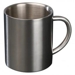 Cană metalică - 8148807, Grey