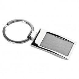 Breloc metalic dreptunghiular - 9221207, Grey