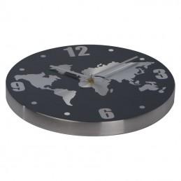 Ceas de perete din aluminiu - 4074407, Grey