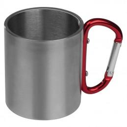 Cană metal cu carabină - 8136705, Red
