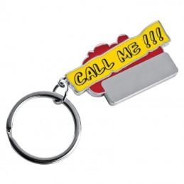 "Breloc ""Call me!!!"" - 9350505, Red"