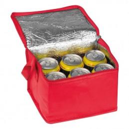 Geantă frigorifică non-woven - 6154205, Red