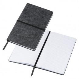 Caiet notițe A5 cu copertă din pâslă - 2135707, Grey