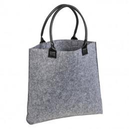 Geantă mare din pâslă - 6038307, Grey