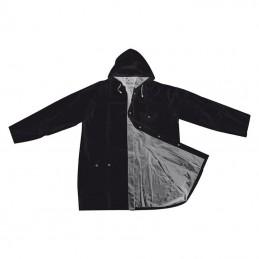 Pelerină de ploaie, XL - 4920537, Black/Silver
