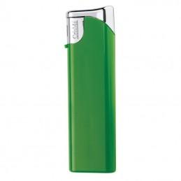 Brichetă piezo din plastic reincarcabila - 9755209, Green