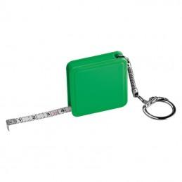 Ruletă de 1m, cu breloc - 8880809, Green