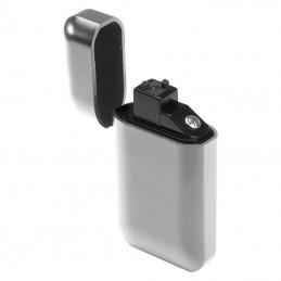 USB brichetă electrica mată fara flacara - 9097697, Silver