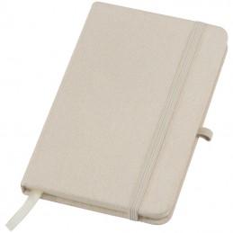Caiet notițe A6 cu copertă din pânză - 2136113, Beige