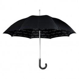 Umbrelă neagră clasică - F11903, Black