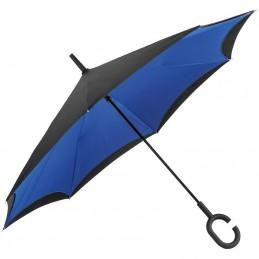"""Umbrelă cu mâner """"C"""" - 4047604, Blue"""
