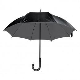 Umbrelă lux cu tijă metalică - 4519707, Grey