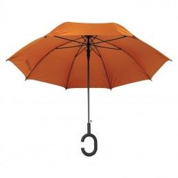 "Umbrelă cu mâner ""C"" - 4139110, Orange"