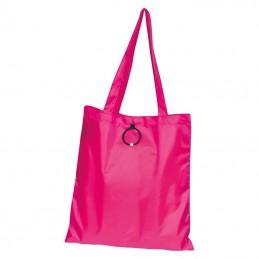 Sacoşă pliabilă de cumpărături - 6095611, Pink