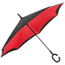 """Umbrelă cu mâner """"C"""" - 4047605, Red"""