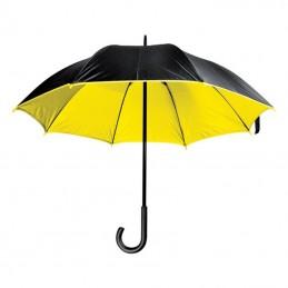 Umbrelă lux cu tijă metalică - 4519708, Yellow