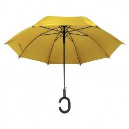 """Umbrelă cu mâner """"C"""" - 4139108, Yellow"""