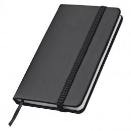 Caiet de buzunar cu elastic - 2836703, Black