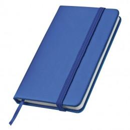 Caiet de buzunar cu elastic - 2836704, Blue