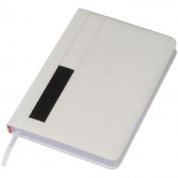 Caiet notițe A5 cu buzunar - 2136306, White