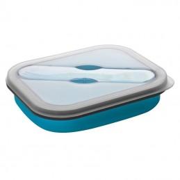 Castron pliabil din silicon - 8005424, Light Blue
