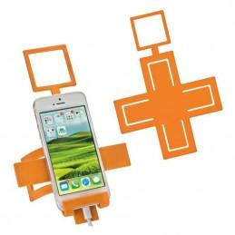 """Suport """"Cross"""" pentru telefon - 2346010, Orange"""