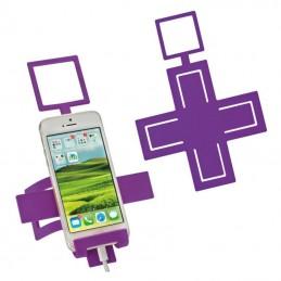 "Suport ""Cross"" pentru telefon - 2346012, Violet"
