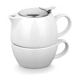 COLE. Set de ceai 93805.06, Alb