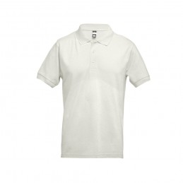 ADAM. Tricou polo pentru barbati 30131.16-XXL, Alb pastelat