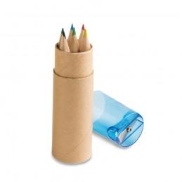 ROLS. Cutie cu 6 creioane colorate 91751.04, Albastru